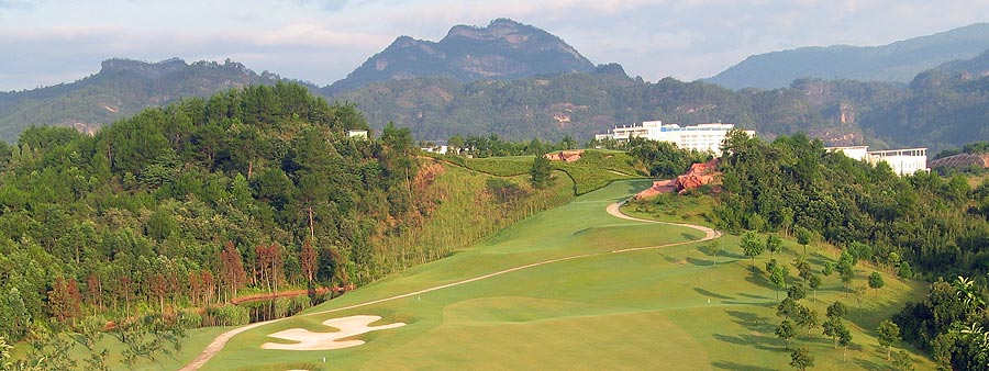 Wuyishan Scenery Golf Club, Wuyi Shan, China.